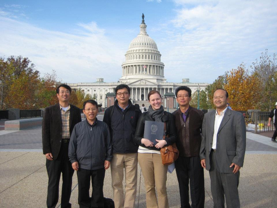 visiting researchers in Washington DC