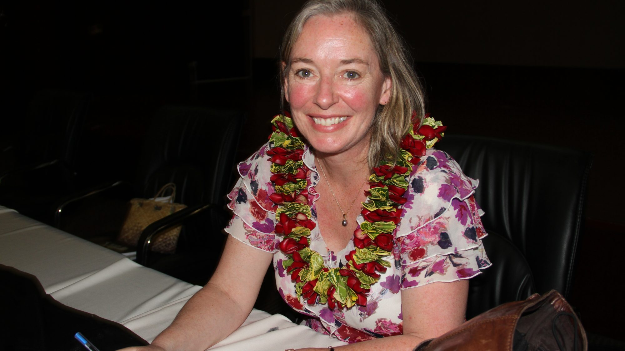 Patricia O'Brien at Book Launch